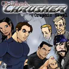 Chrusher Comix - My comic book & graphic novel that I have wrote, illustrated, colored and produced since 1988. Online since 2006!