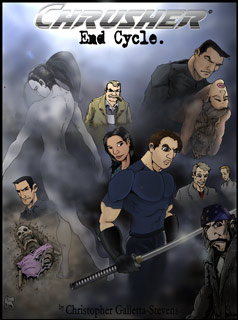 "The brand new web graphic novel, ""END CYCLE"" from 2007-current!"