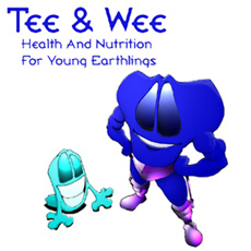 Tee & Wee: Nutrition for Young Earthlings - My children's book co-created with writer Robert Buchanan. On sale now!